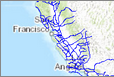 California Trade Routes Web Map screenshot