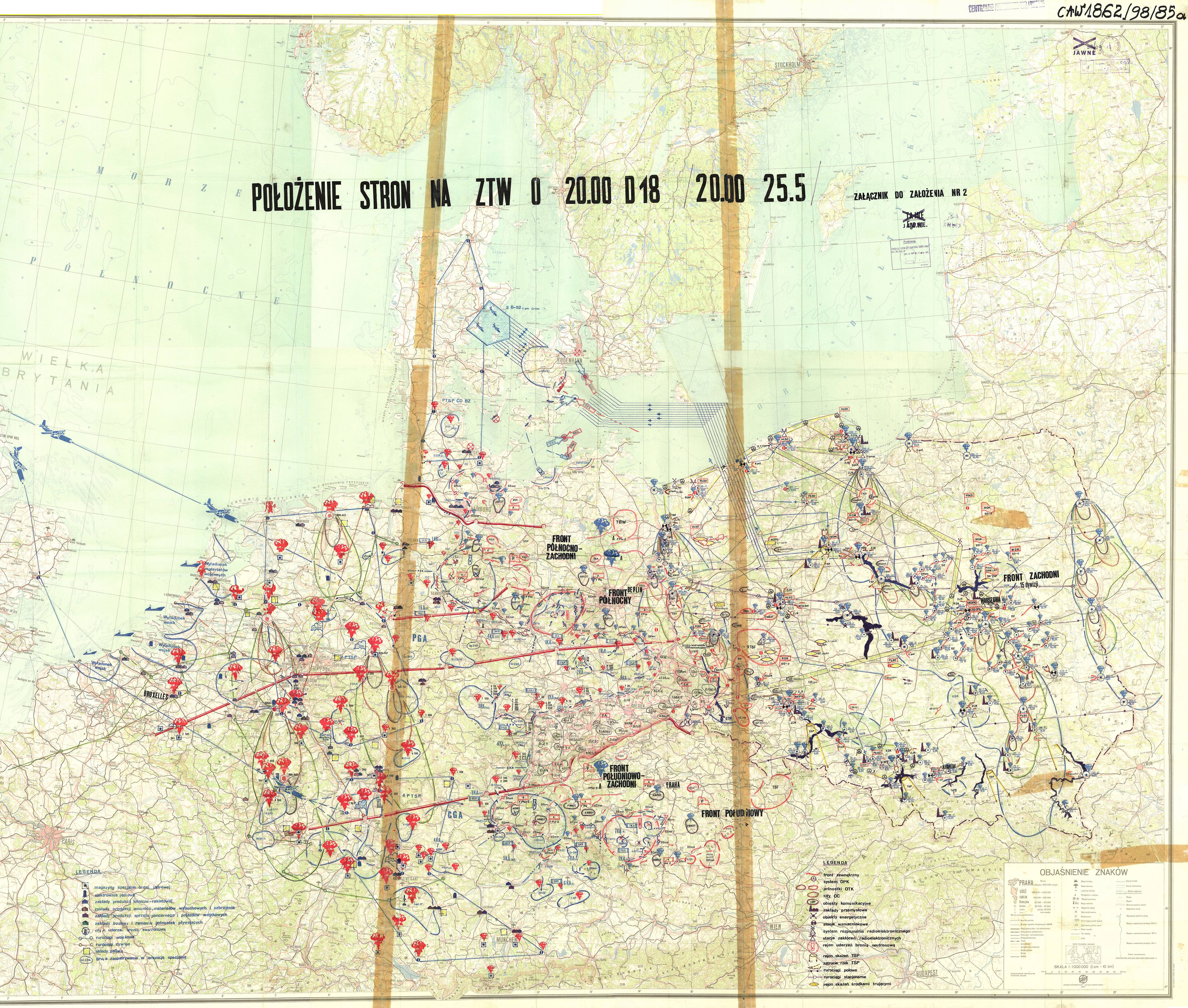 Warsaw Pact Simulation of Nuclear Conflict – 1979